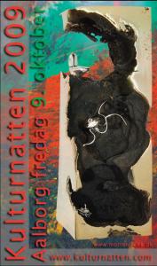 Plakat kulturnatten 2009